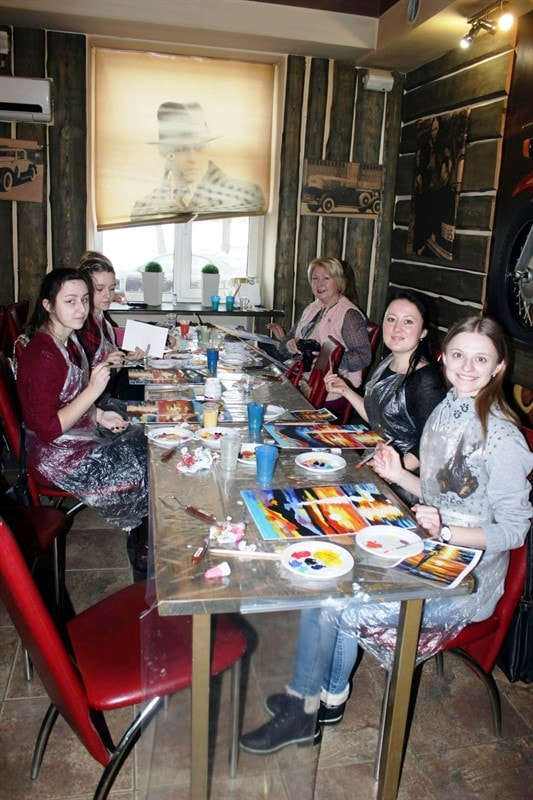 курсы Акриловой живописи в Минске