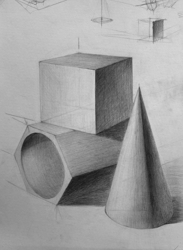 Рисование карандашом