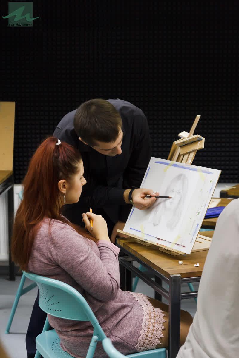 курсы портрета живописи в Минске